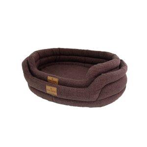 Лежак ГЮ-ВАС «Овал» из мебельной ткани