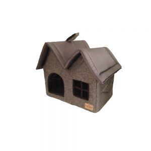 Дом «Дуэт» мебельный коричневый