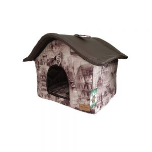 Дом «Лео» из мебельной ткани.