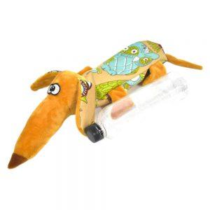 """Игрушка для собак """"Такса"""" с эффектом хруста (длина 55 см)"""