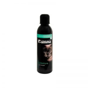 Шампунь для длинношерстных и пушистых кошек Gamma