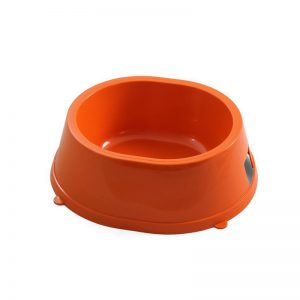 Миска пластиковая №2 (0,45л) оранжевая